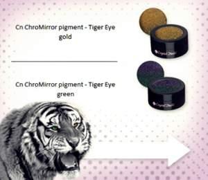 ÚJDONSÁG! ChroMirror Tiger Eye Pigmentporok
